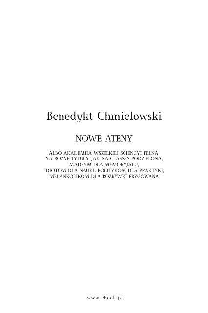 Benedykt Joachim Chmielowski