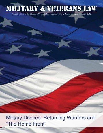 Military & Veterans Law - State Bar of Georgia