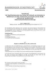 Sandkirchweih - Stadt Bamberg