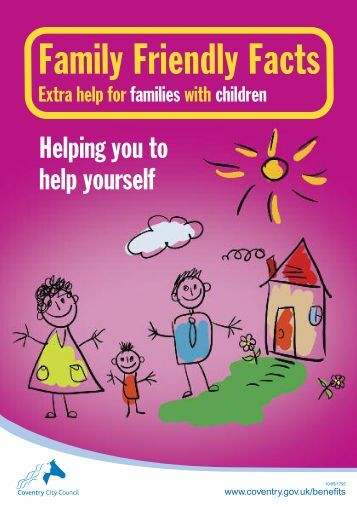 Family Friendly Facts Booklet - Coventry Partnership