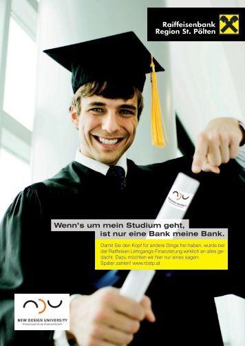 Wenn's um mein Studium geht, ist nur eine Bank meine Bank.