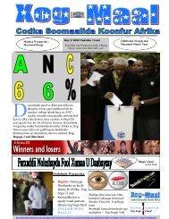 Xog- Maal - Somali Talk