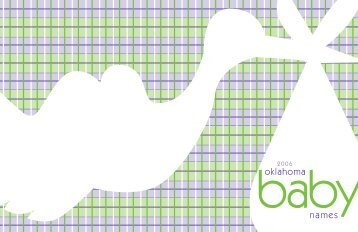 names oklahoma - State of Oklahoma
