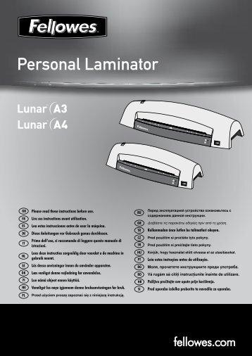 Personal Laminator - Fellowes