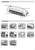 Personal Laminator - Fellowes - Page 3