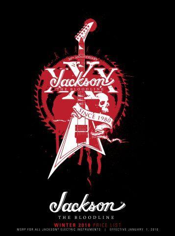 Winter 2010 Price List - Jackson® Guitars