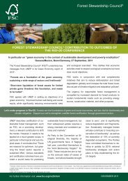 FSC Contributions to Rio+20 (English) PDF, Size: 2,50 MB Added