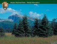 Alaska's National Parks – Media Information - Travel Alaska