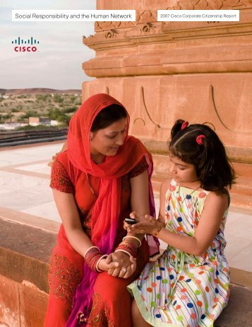 Social Responsibility and the Human Network - Cisco