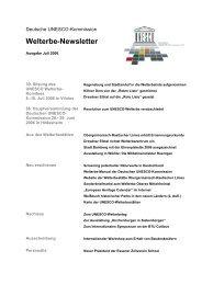 Welterbe-Newsletter - Stadt Bamberg