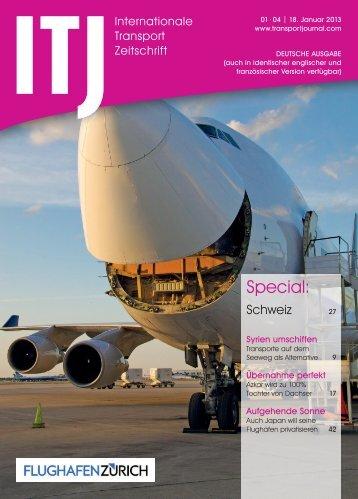 Jetzt Ausgabe 01-04 lesen - ITJ   Transport Journal