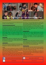 ISCT Newsletter November 2011