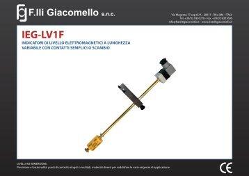 IEG-LV1F - F.lli Giacomello