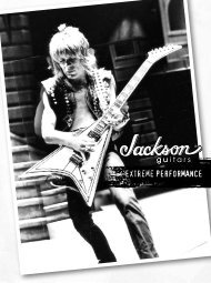 Extreme Performance - Jackson® Guitars
