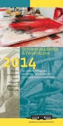 Sommerakademie & Ferienkurse - Akademie Schloss Rotenfels
