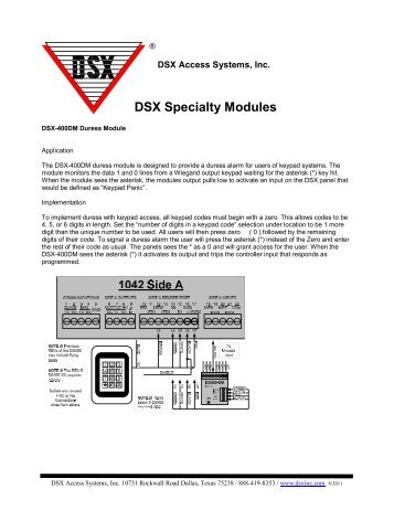 dsx tdm time display module dsx access systems, incdsx specialty modules dsx access systems, inc