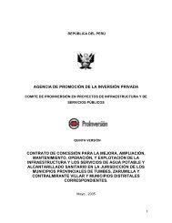 CONTRATO DE CONCESIN TUMBES - Proinversión