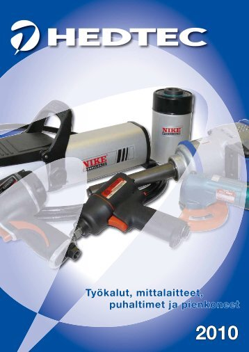 Tuoteluettelo 2010 - Hedtec Oy