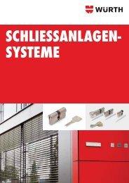 Schließanlagen-Systeme - Würth