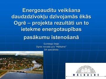Iedzīvotāju informēšana energoefektivitātes ... - BEF Group