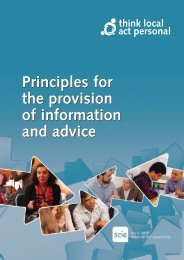 Principles for the provision of information and advice (pdf - 702Kb)