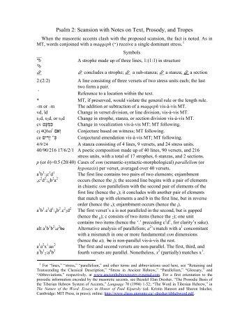 Psalm 2 - Ancient Hebrew Poetry - Typepad