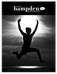 January 2012 (pdf) - Hampden Community Council