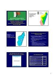 Jour 3 - 5 SuiviEval MIDs Madagscar - The Alliance for Malaria ...