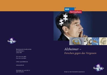 Alzheimer –