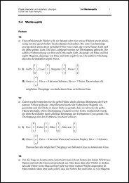 3.4 Wellenoptik a) Eine reflektierende Fläche (z.B. ein ... - Orell Füssli