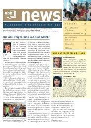Die ABG zeigen Biss und sind beliebt - GGG Stadtbibliothek Basel