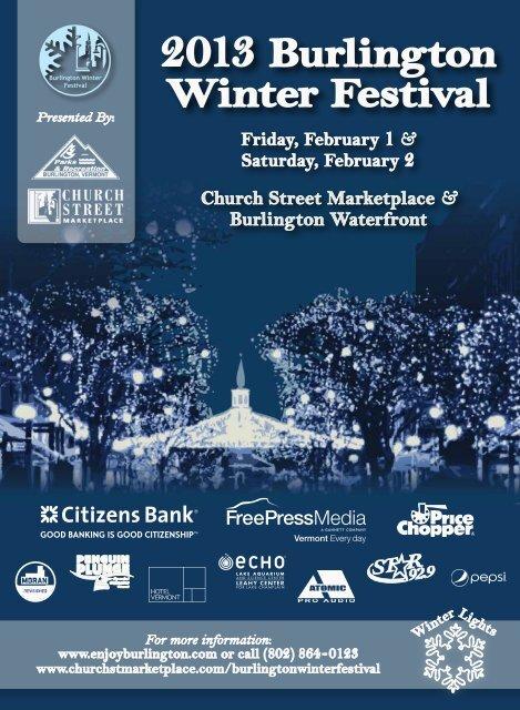 2013 Burlington Winter Festival - Burlington Parks and Recreation