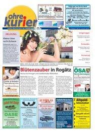 Blütenzauber in Rogätz - ohre-kurier
