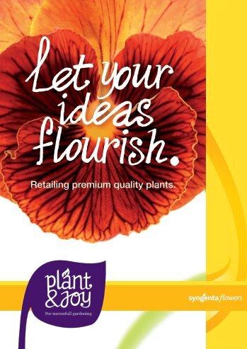 Retailing premium quality plants.