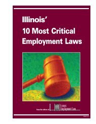 Illinois' 10 Most Critical Employment Laws