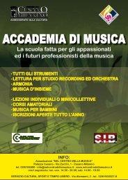 ACCADEMIA DI MUSICA - Comune di Cusano Milanino