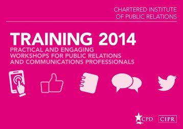 CIPR-Training-Brochure-2014