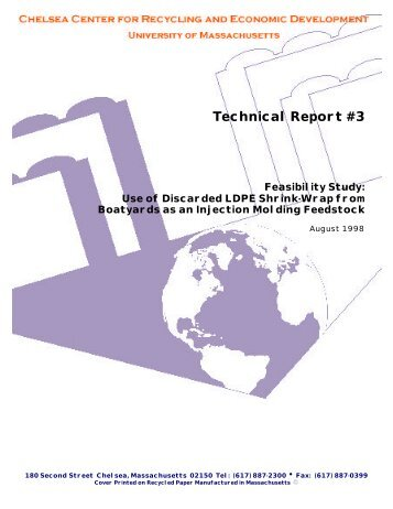 Technical Report #3 - Chelsea Center for Recycling and Economic ...
