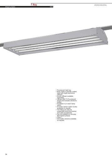 T Bay T5 Fluorescent - Spazio Lighting