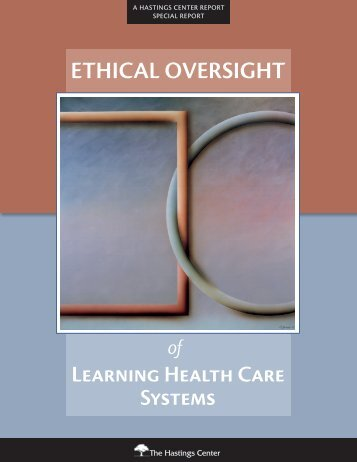 ETHICAL OVERSIGHT - The Johns Hopkins Institute for Clinical and ...