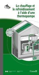 Chauffage et climatisation avec une thermopompe (pdf) - Nilan