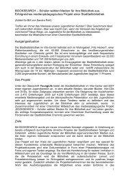 Informationen - Stadtbibliothek Chemnitz