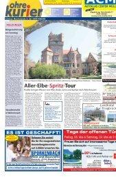 Aller-Elbe-Spritz-Tour - ohre-kurier