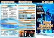 Der Programmflyer zum Download - Stadtfest Olpe 2012