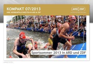 KOMPAKT 07/2013 - ARD & ZDF Fernsehwerbung