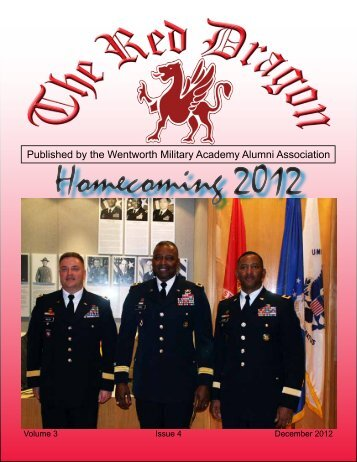 Red Dragon Vol 3 Issue 4 - Wentworth Military Academy & College