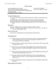 Ping Eric Yeung - Johnson Graduate School of Management ...