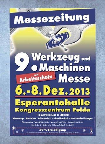 Messezeitung 9. Werkzeug und Maschinen Messe - Wemag