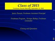 Class of 2015 - Findlay High School