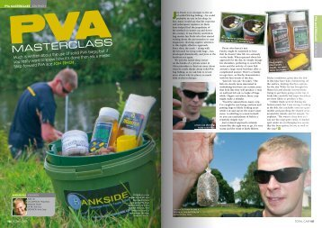 PVA MASTERCLASS JON FINCH - Carp Fishing Tackle for the Avid ...